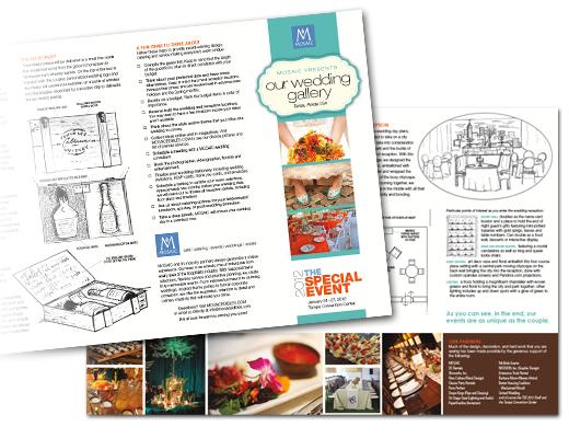 MOSAIC Wedding Gallery Brochure