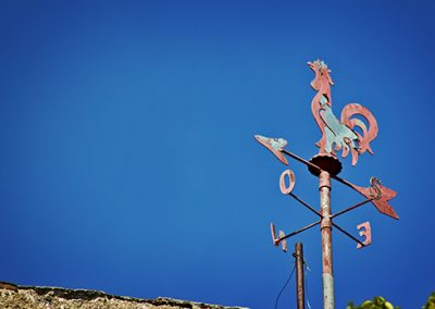 Orvieto-Italy-Rooster