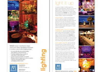 MOSAIC Lighting Brochure