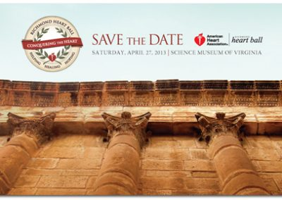 Richmond Heart Ball Save the Date