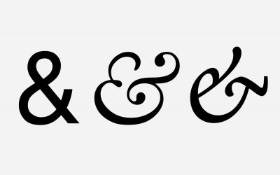 The History of the Ampersand