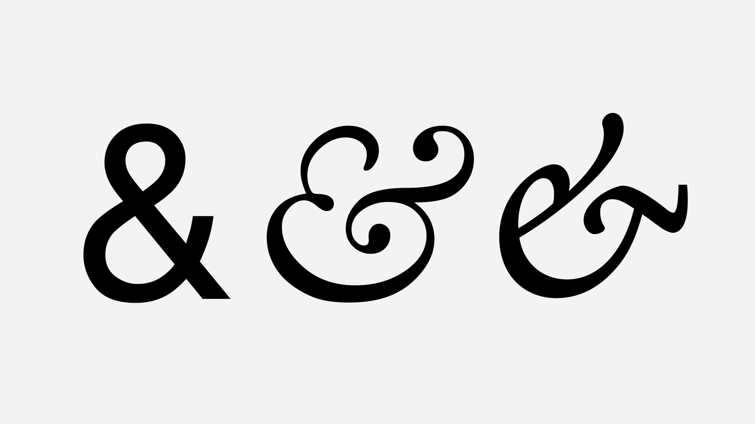 history of the ampersand