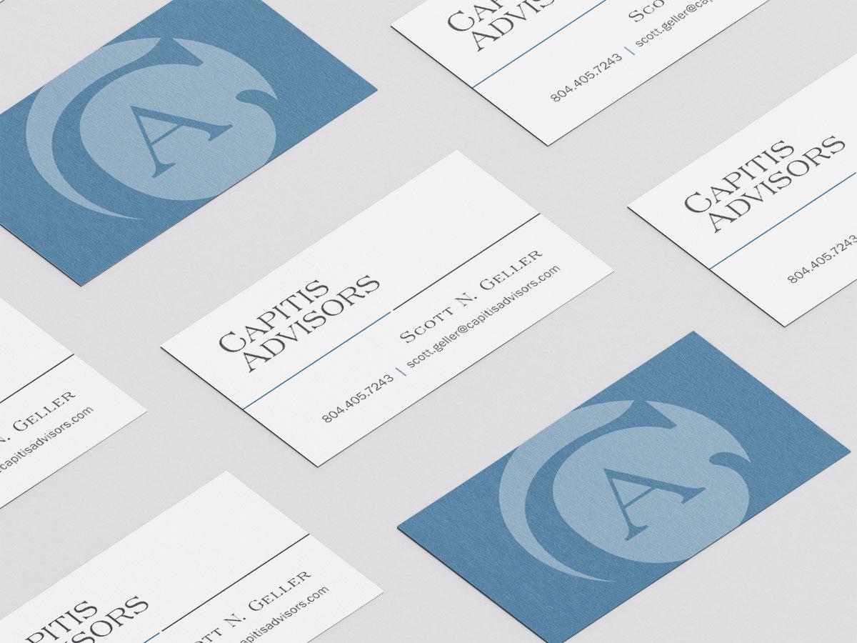 Captis Advisors Stationery Package