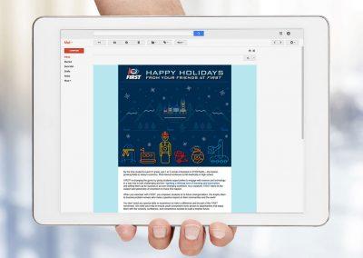 FIRST Digital Holiday Card 2020