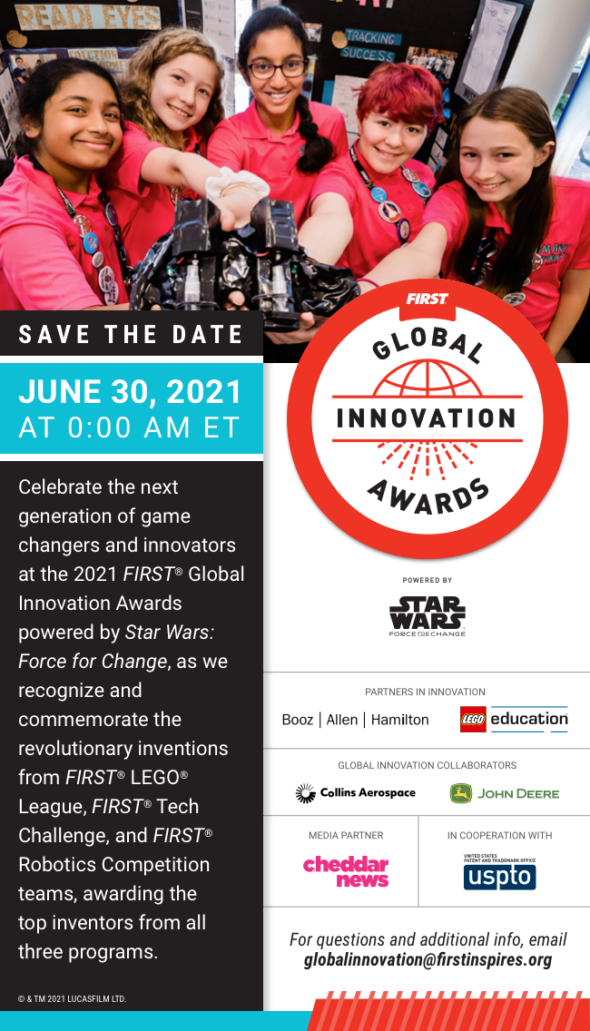 Global Innovation Award Save The Date