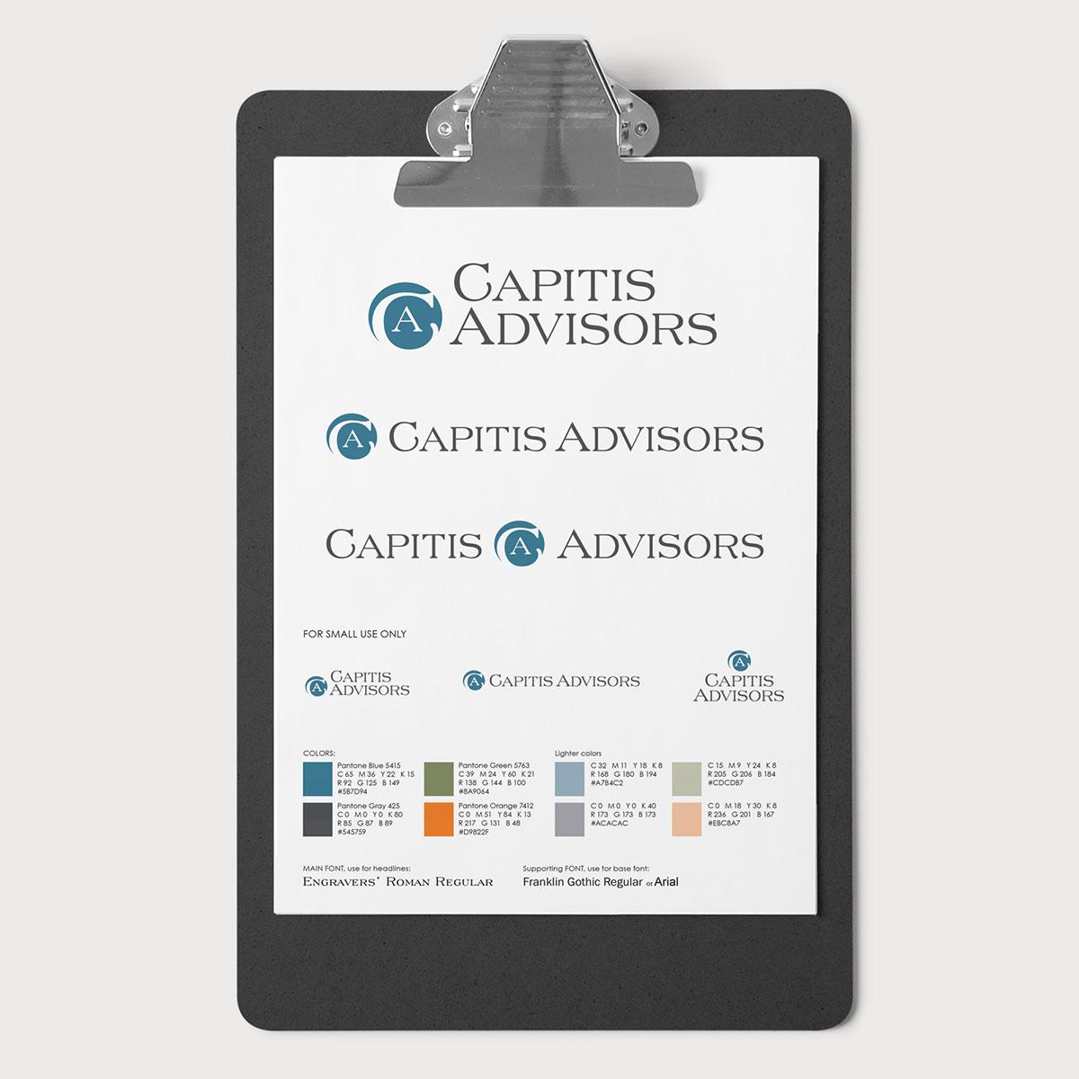 Branding Guide for Captis Advisors