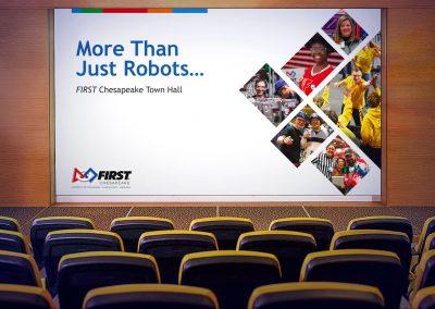 FIRST Chesapeake Townhall Presentation